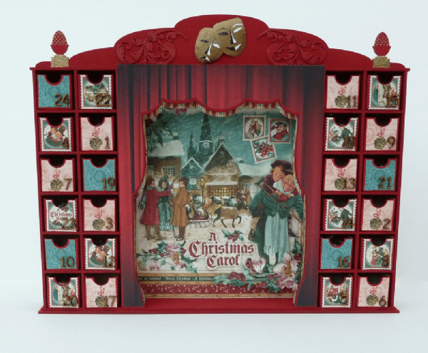 Theatre Style Advent Calendar